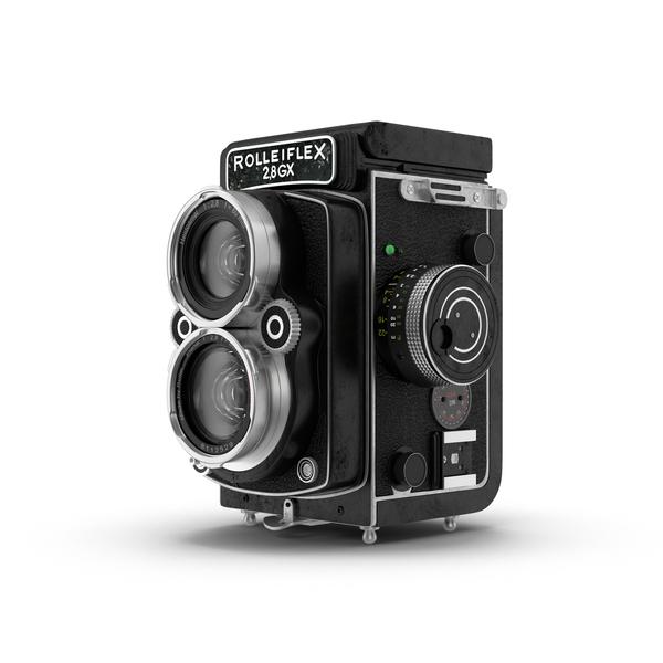Rolleiflex Camera Object