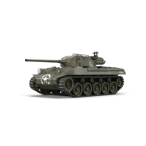 M18 Hellcat Tank Destroyer Object