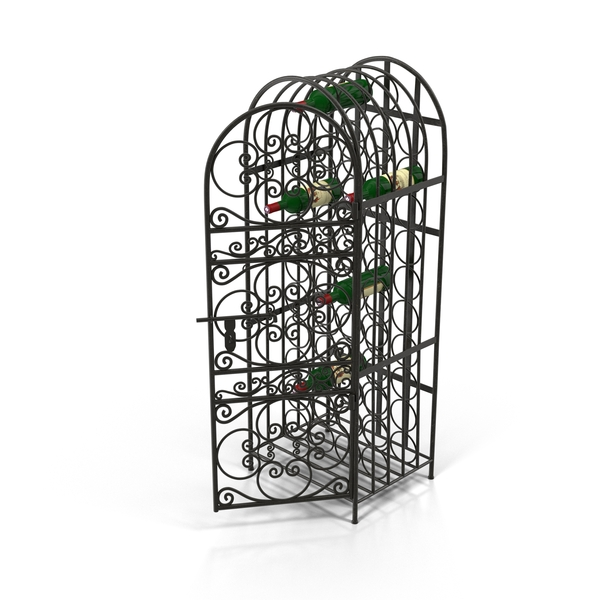 Wine Cage Object