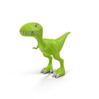 Cartoon Dinosaur Object