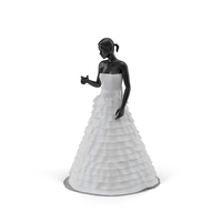Showroom Wedding Dress Object