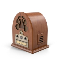 Cathedral Antique Radio Object
