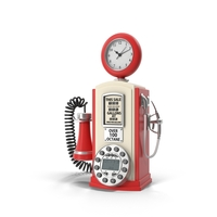 Gas Station Design Phone Object