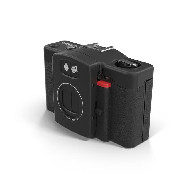 Lomo LC-Wide Film Camera Object
