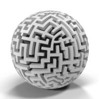 Angular Maze Object
