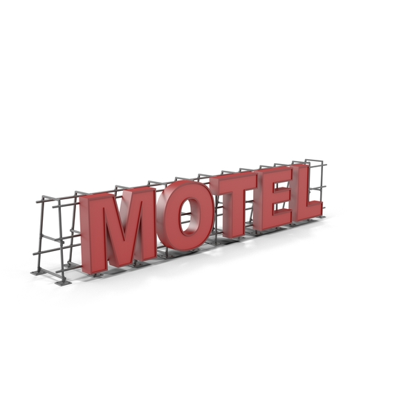 Motel Sign Object