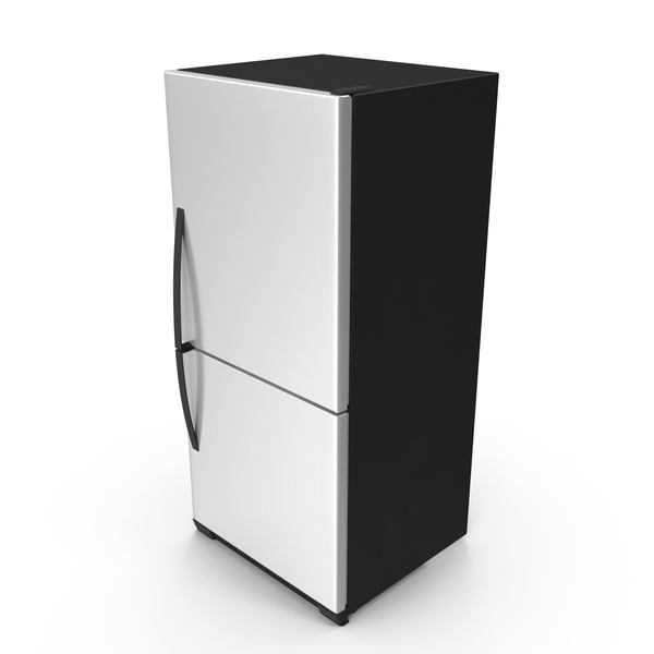 Stainless Steel Refrigerator  Object
