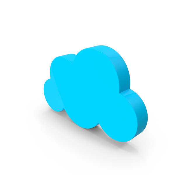 Small Cartoon Cloud Object