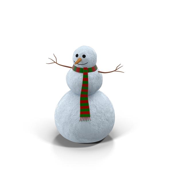 Friendly Snowman Object