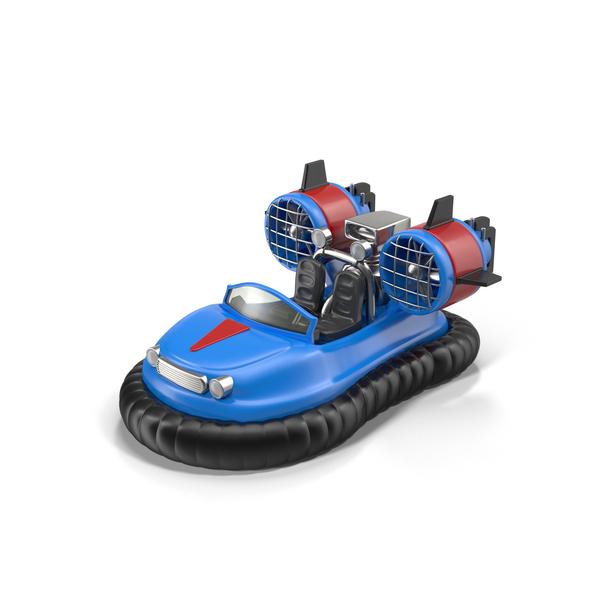 Cartoon Hovercraft Object