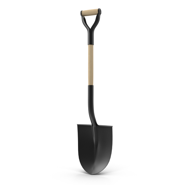 Garden Spade Object