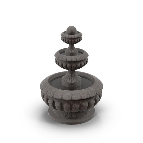 Stone Fountain Object