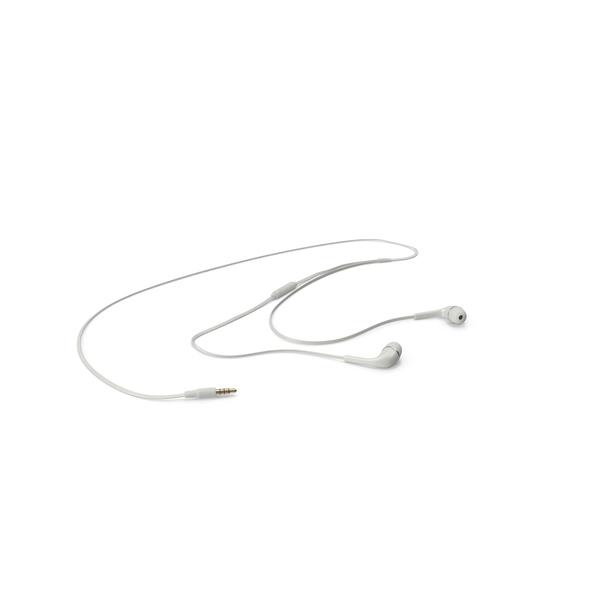 Earbud Headphones  Object