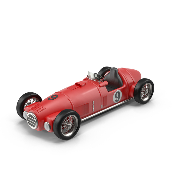 Vintage Racing Car Object