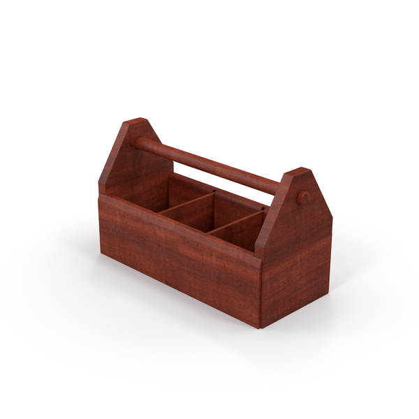 Wooden Tool Box Object