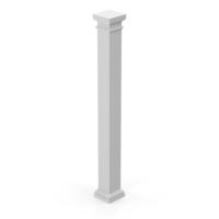 Modern Column and Capital  Object