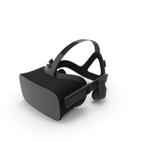 Occulus Rift Headset Object