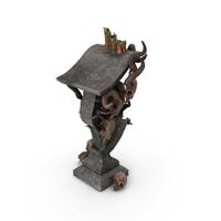 Fantasy Podium Object