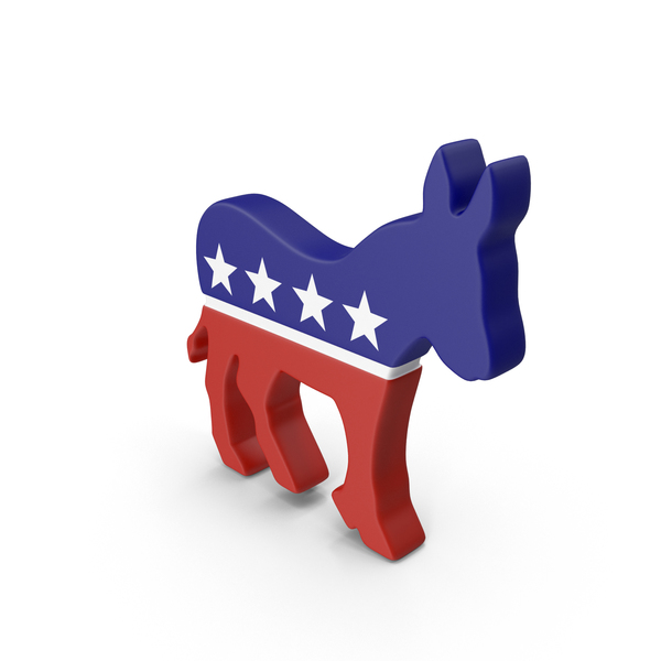 Democratic Party Logo Object