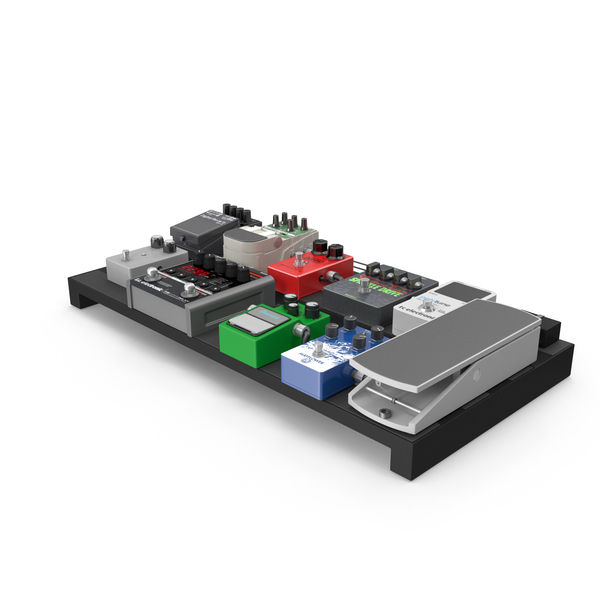 Guitar Pedals Object