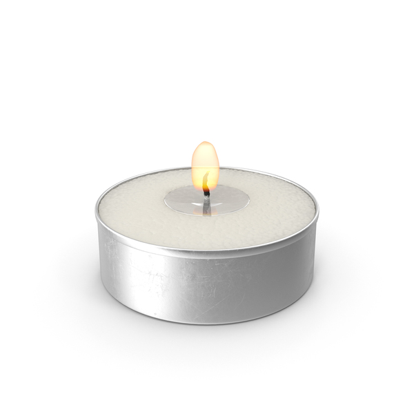 Tea Light Candle Object