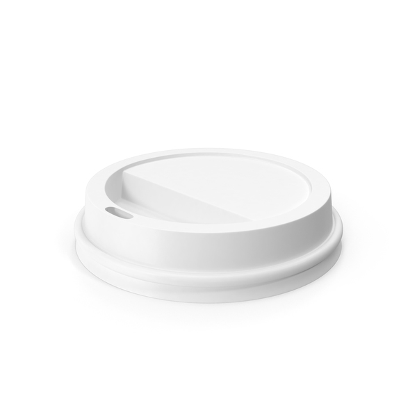 Coffe Cup Lid Object