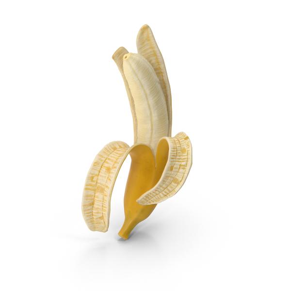 Peeled Banana Object