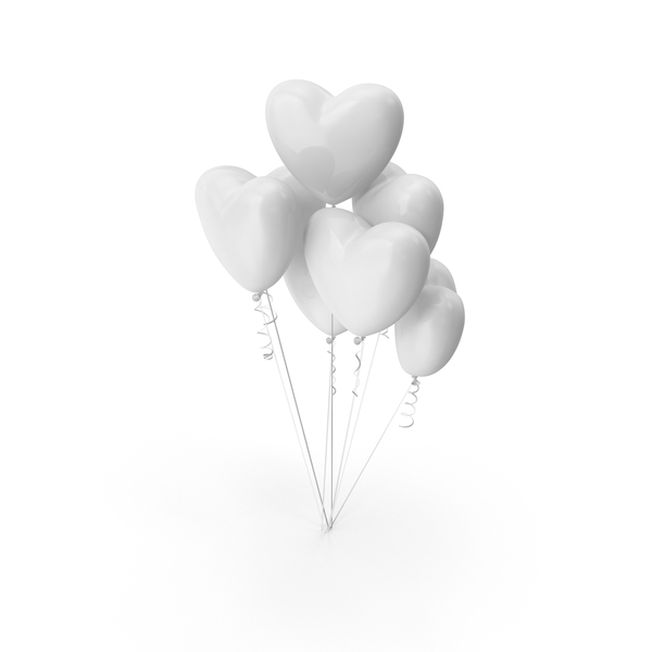 Heart Shaped Balloons  Object