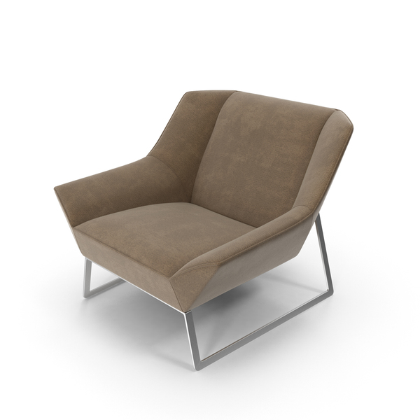 Leather Armchair Object