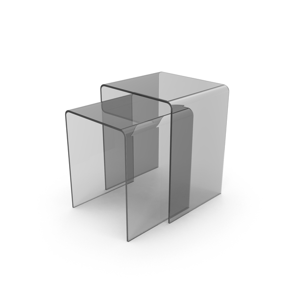 Clear Sliding End Tables Object