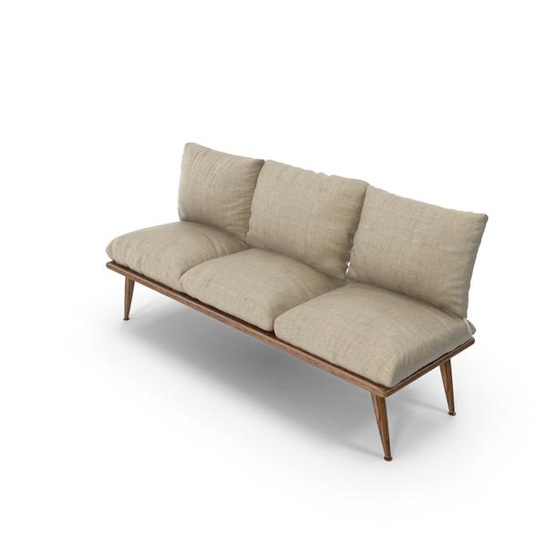 Comfy  Sofa Object