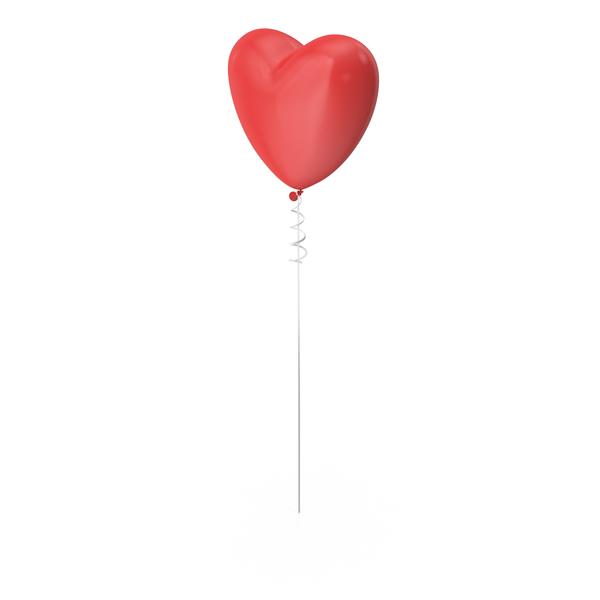 Heart Shaped Balloon Object
