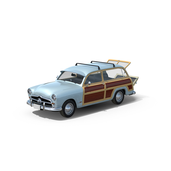 Generic Retro Car Object