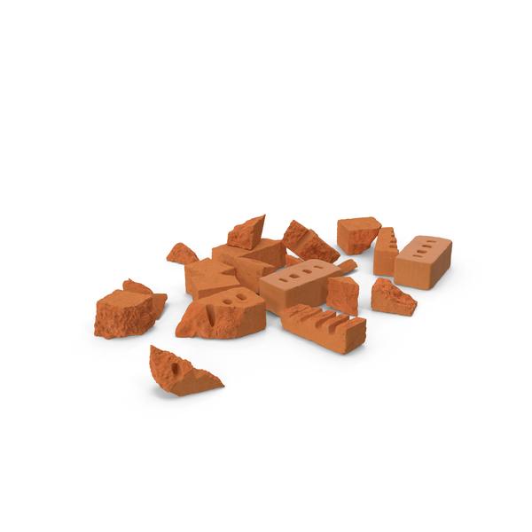 Broken Bricks Object