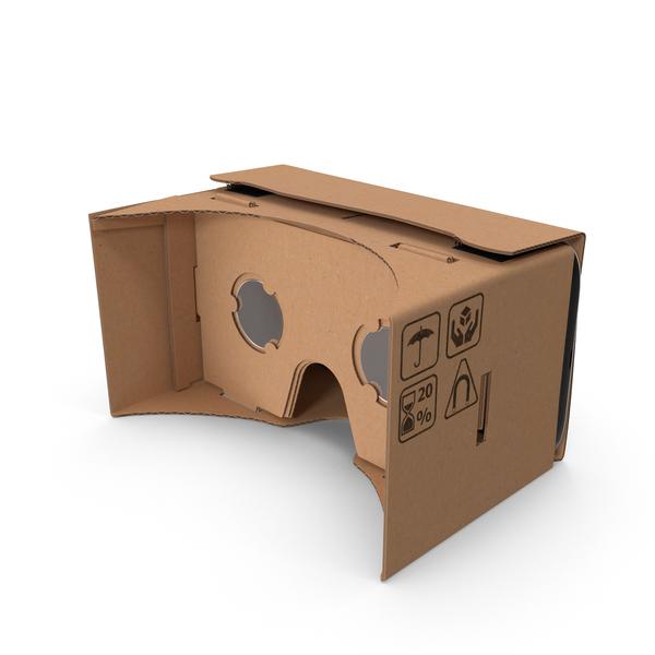 Google Cardboard Headset Object