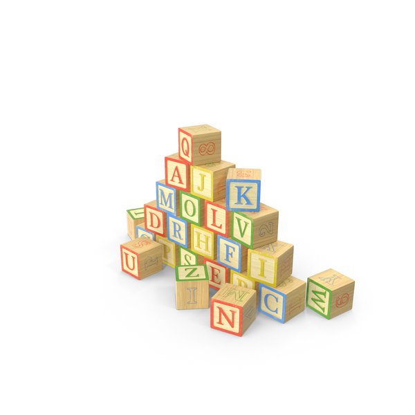 Alphabet Blocks Object