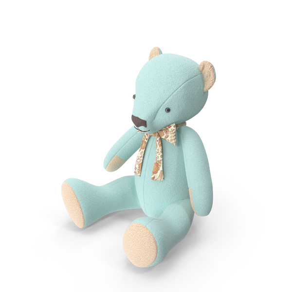 Blue Teddy Bear Object
