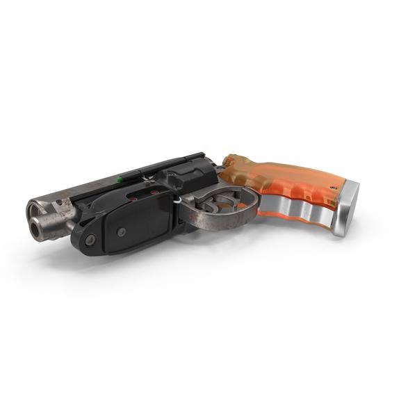 Blade Runner Deckard Gun Object