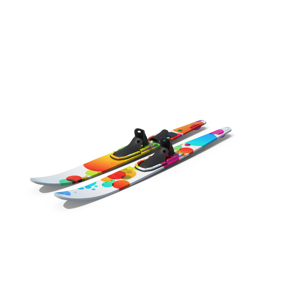 Waterskis Generic Object