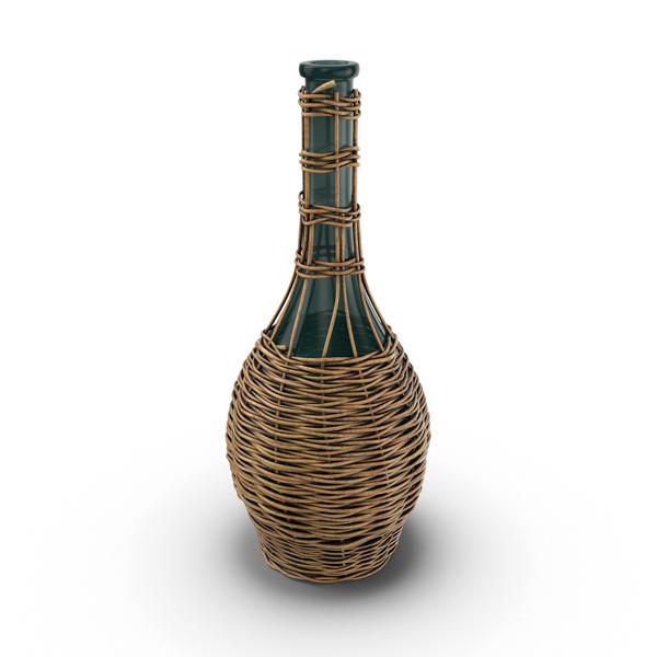 Jug in Basket Object