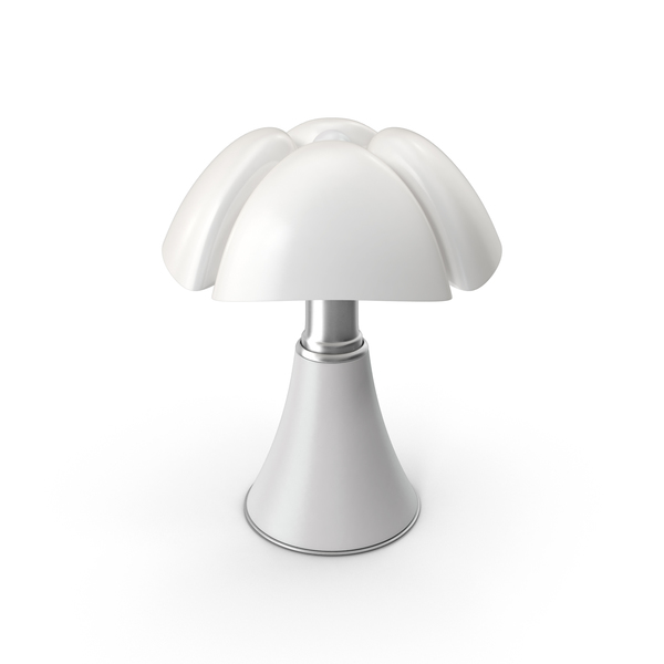 Table Lamp White Object
