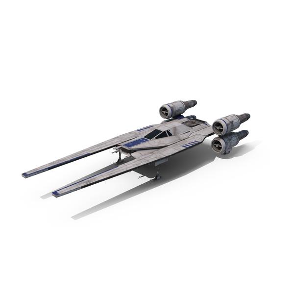 Rebel Starfighter (U-Wing) Landed Object
