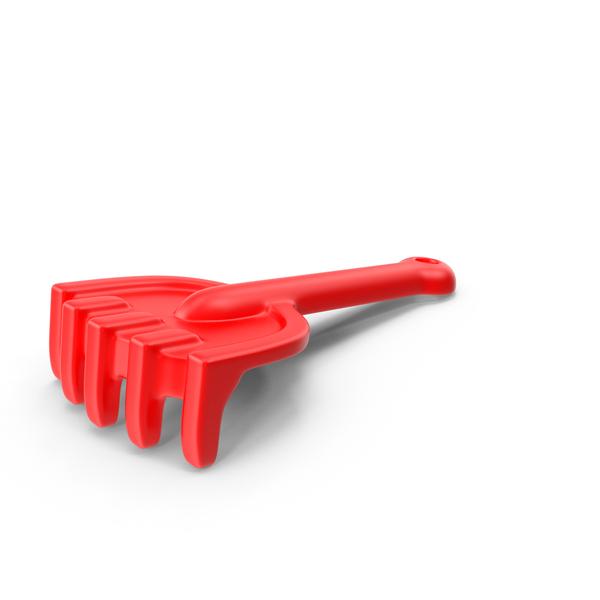 Toy Rake Object
