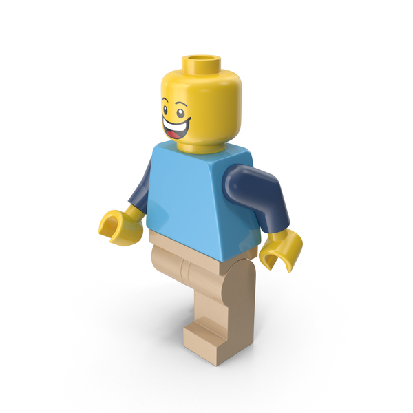 Lego Man Walking Object