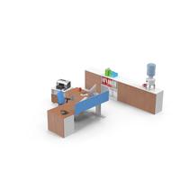 Office Workstation Object