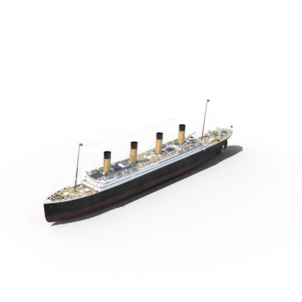 RMS Titanic Object