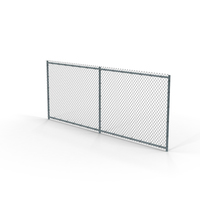 Chain Link Fence Sections  Object