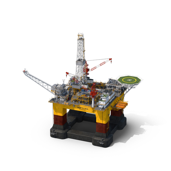 Oil Rig Object